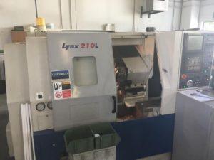 Makinate   Tour CNC avec outils fixes Daewoo Lynx 210L d'occasion