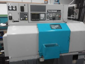 Tour CNC avec outils fixes Takisawa TC 20 d'occasion | Makinate